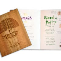 Kashi Plantable Wooden Book