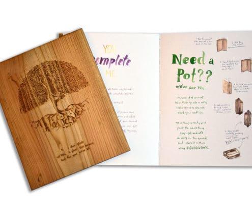 Kashi Plantable Wooden Book