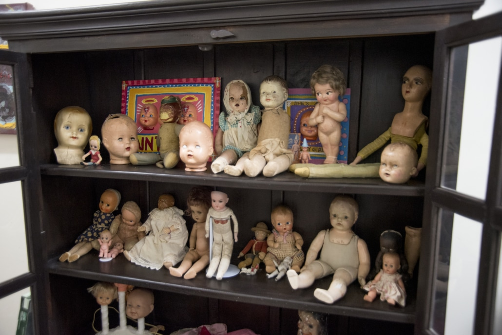 Doll Cabinet
