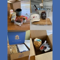 Client Gifting: Care Package Collage