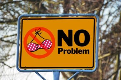 No bra? No problem.